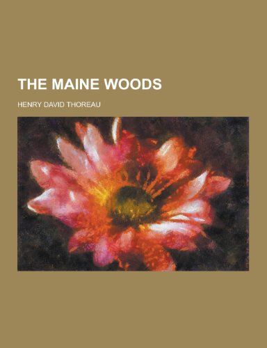 9781230295770: The Maine Woods