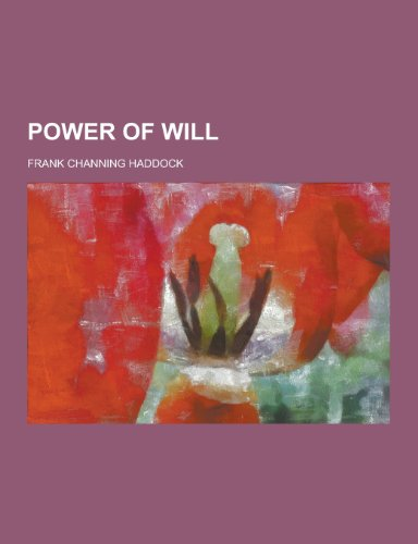 9781230321035: Power of Will