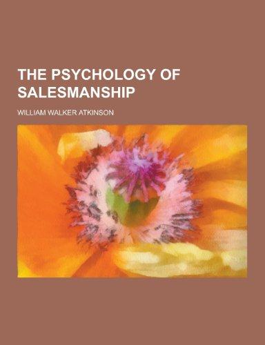 9781230328560: The Psychology of Salesmanship