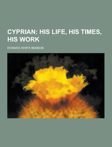 9781230342344: Cyprian