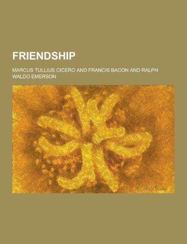 9781230344546: Friendship