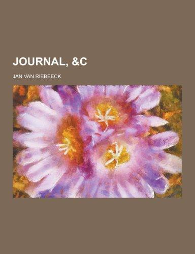 9781230345888: Journal, &C