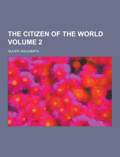 9781230349169: The Citizen of the World Volume 2