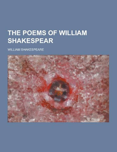 9781230350318: The Poems of William Shakespear