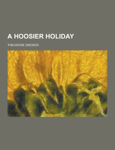 9781230353234: A Hoosier Holiday