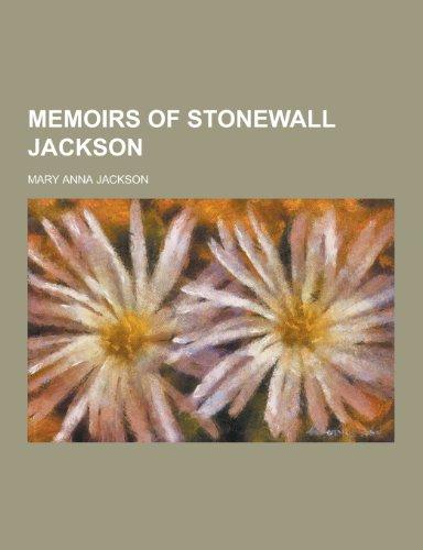 9781230357881: Memoirs of Stonewall Jackson