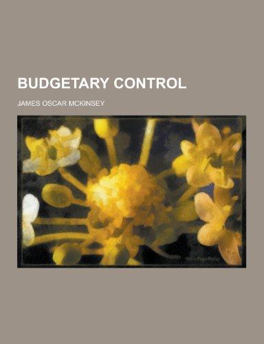 9781230366456: Budgetary Control