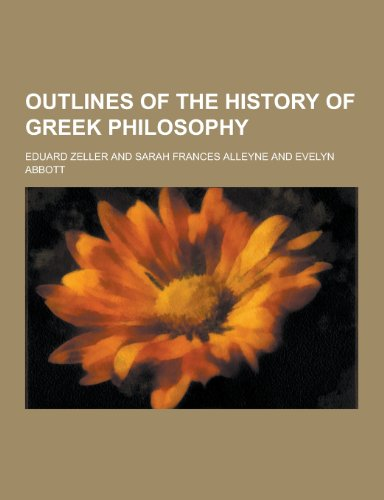 9781230370941: Outlines of the History of Greek Philosophy