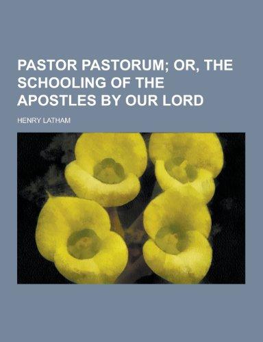 9781230371054: Pastor Pastorum