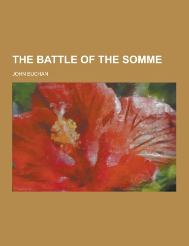 9781230372747: The Battle of the Somme