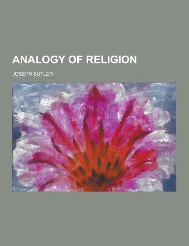 9781230390666: Analogy of Religion