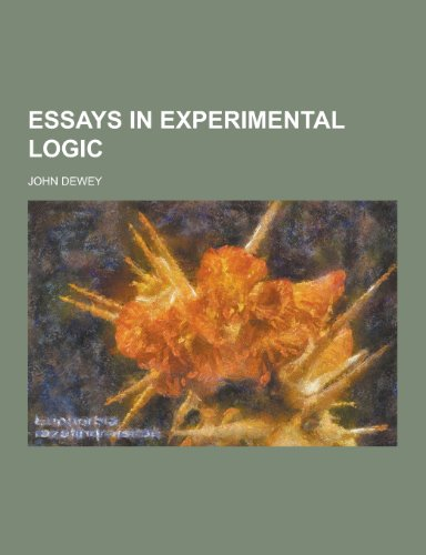9781230393612: Essays in Experimental Logic