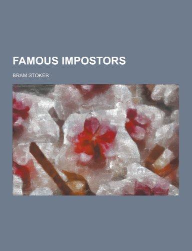 9781230393766: Famous Impostors