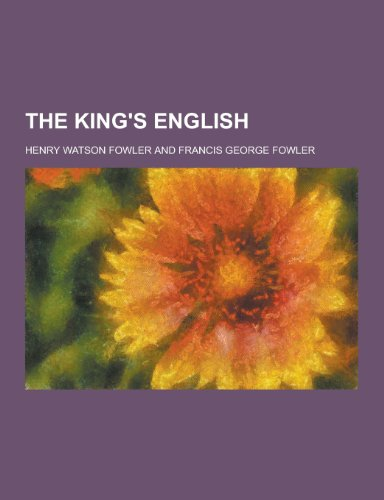 9781230400716: The King's English