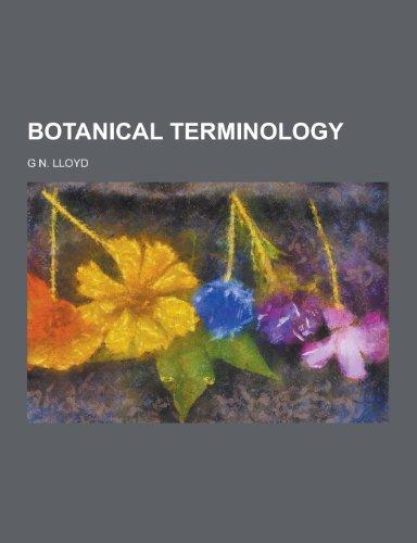 9781230410487: Botanical Terminology