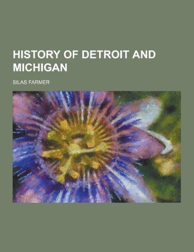 9781230428451: History of Detroit and Michigan
