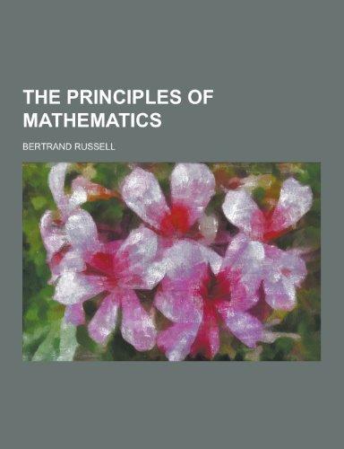 9781230430911: The Principles of Mathematics