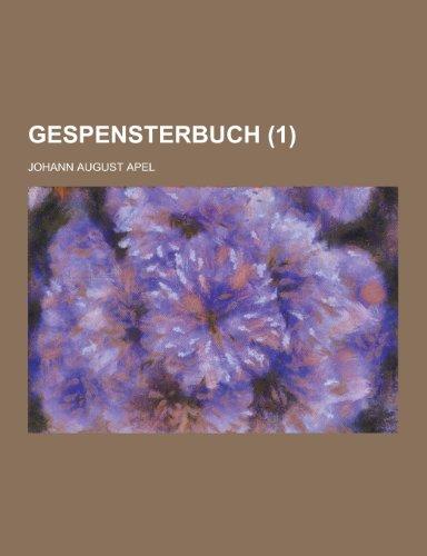 9781230443379: Gespensterbuch (1)