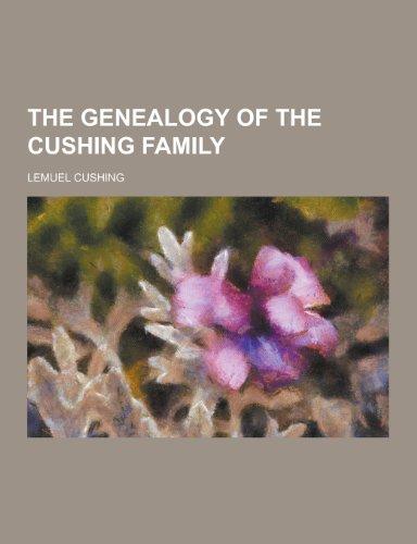 9781230450377: The Genealogy of the Cushing Family