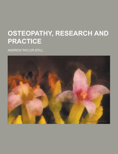9781230456508: Osteopathy, Research and Practice