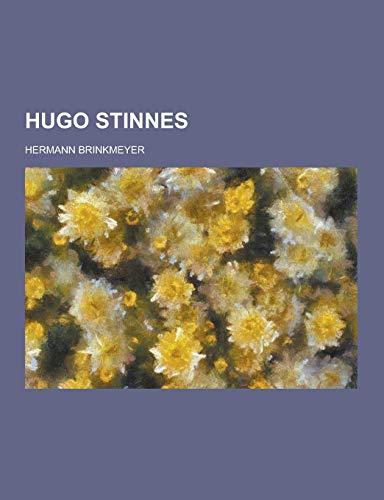 9781230458878: Hugo Stinnes