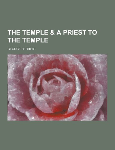 9781230460833: The Temple & a Priest to the Temple