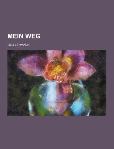 9781230461861: Mein Weg