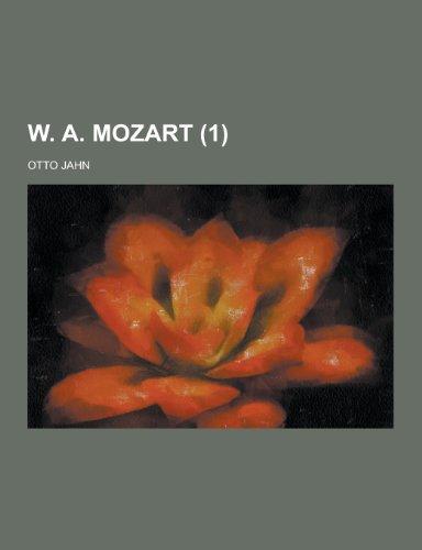 9781230462028: W. A. Mozart (1)