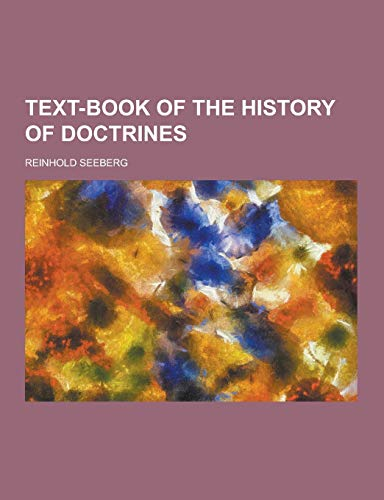 9781230466910: Text-Book of the History of Doctrines