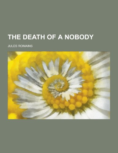 9781230469454: The Death of a Nobody
