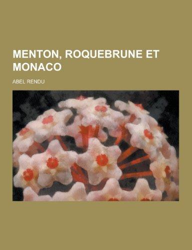 9781230471297: Menton, Roquebrune Et Monaco (French Edition)