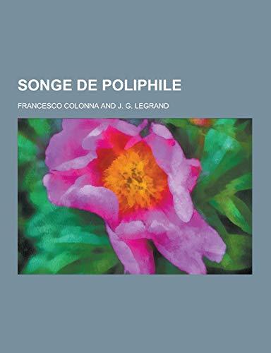 9781230474250: Songe de Poliphile