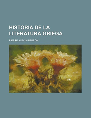 9781230726298: Historia de La Literatura Griega