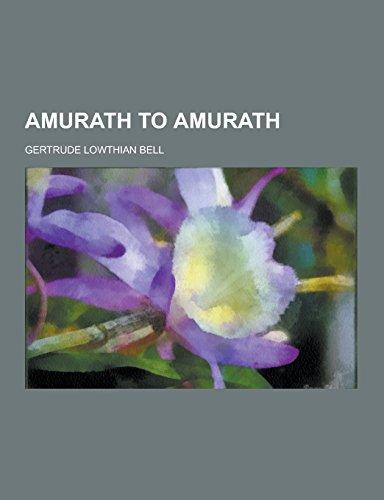 9781230731346: Amurath to Amurath