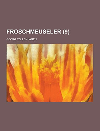 9781230734873: Froschmeuseler (9 ) (German Edition)