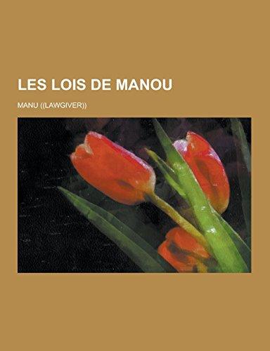 9781230736211: Les Lois de Manou (French Edition)