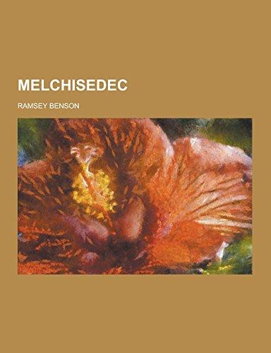 9781230858951: Melchisedec