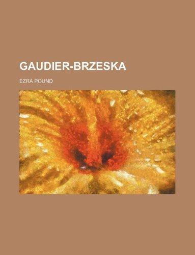 9781231012178: Gaudier-Brzeska