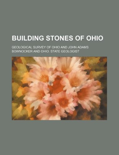9781231084632: Building stones of Ohio