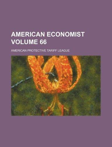 9781231130179: American economist Volume 66