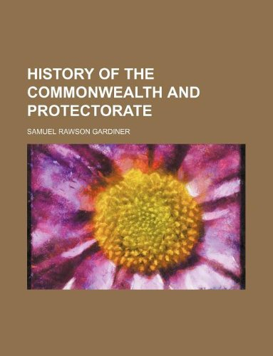 9781231130551: history of the commonwealth and protectorate