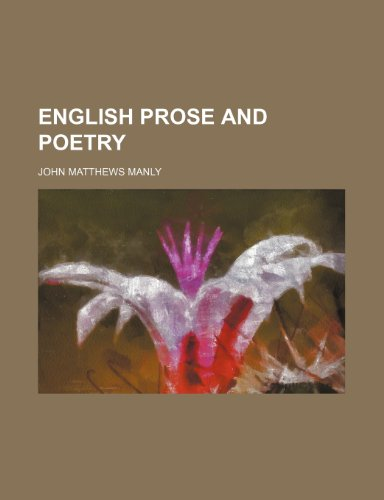 9781231197899: english prose and poetry