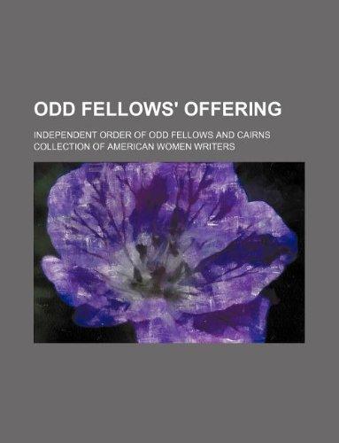 9781231200063: Odd fellows' offering