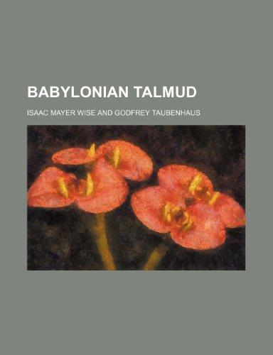 9781231210970: Babylonian Talmud