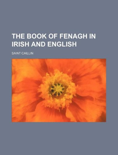 9781231262696: The Book of Fenagh in Irish and English