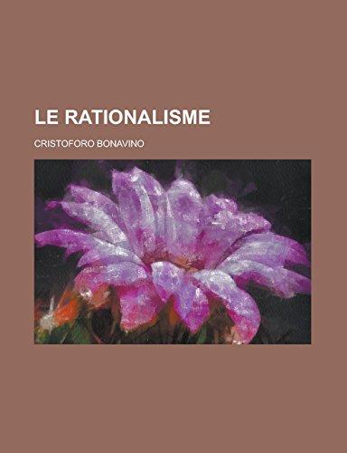 9781231281215: Le Rationalisme