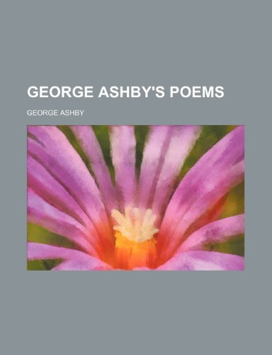 9781231302675: George Ashby's poems