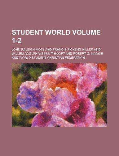 9781231321003: Student world Volume 1-2