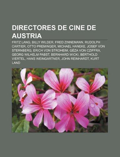 Directores de cine de Austria: Fritz Lang,: Fuente: Wikipedia