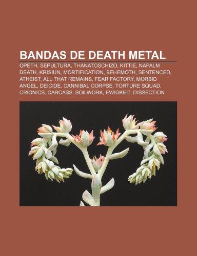 9781231400944 Bandas De Death Metal Opeth Sepultura
